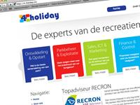 "<a href=""http://www.4-holiday.nl"" target=""_blank"">4 Holiday</a>De experts van de recreatiemarkt!"